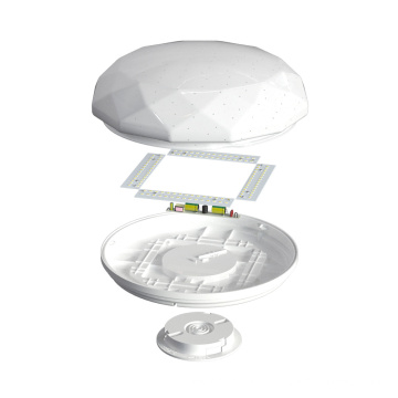 Cool White LED Ceiling Light with Surface Mounted