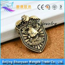 Verious Kinds of Bronze Die Cast Metal Pin Badge for Custom Pin Badge