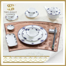 Wholesale chaozhou ceramic ware, used restaurant porcelain dinner plate
