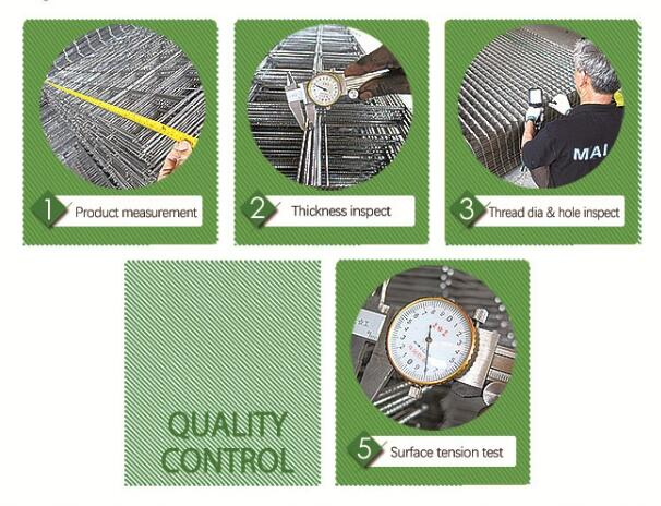 welded wire mesh qiality