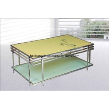 High Quality Modern Hot Selling Metal Glass Coffee Table
