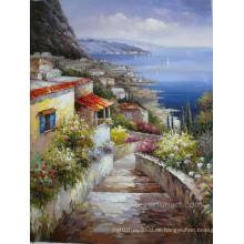 Mittelmeerlandschaft Gemälde
