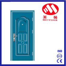 Порошковая краска стальные железные двери экстерьера для проекта двери