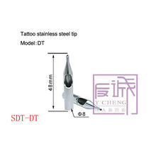 Consejos de tatuaje profesional acero inoxidable SDT-DT
