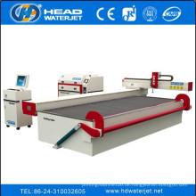 Schleifstrahler Wasserstrahl Schneidglas Prozessmaschine Glasschneider