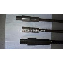 Rigid design anti impact rebar coupling system for construction