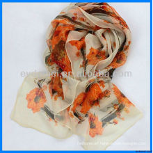 Lady print fabric wholesale scarf organizer