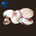 Heat Resistant Opal Glassware-46PCS Dinner Set