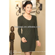 good anti-pilling cashmere women's knitting dress