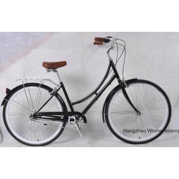 Bicicleta de la ciudad de la bici de Cro Moly Steel 700c Vintage
