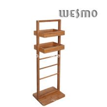 Bastidor de baño de bambú carbonizado (WRB0509A)