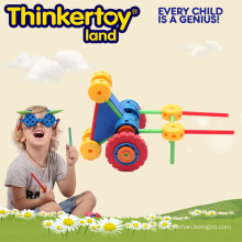 Plastic Children Educational DIY Building Blocks Toys