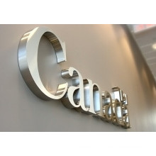 Metal Lettering for Signs Rimless Sign Manufacturing