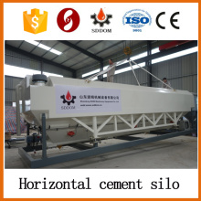Hochleistungs-20-30 Tonnen horizontales Zementsilo, mobiles Zementsilo