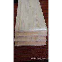 Revestimiento de madera de la sauna del cedro rojo del color claro
