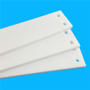 White Virgin Heat PTFE Tấm đúc