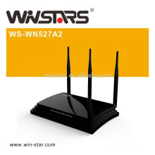 450Mbps dualband wireless router with 3 External antennas,high power wifi router