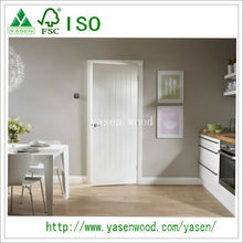 Porte en bois blanche de haute qualité d'amorce de forces de défense principale
