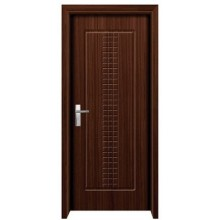 unique design carving MDF PVC door