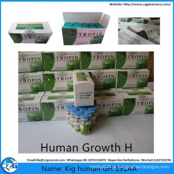 Hidromático humano 10iu do Gh da hormona de esteróides 191AA do crescimento