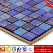 China supply bathroom wall design tile Hot melt mosaic tile