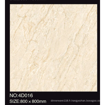 60X60 80X80made dans le carreau de porcelaine de regard de la catégorie AAA de marbre de la Chine pour le plancher