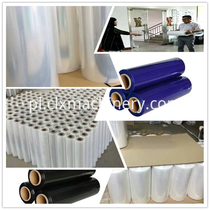 Pe Cling Film Making Extruder Machine For Sale