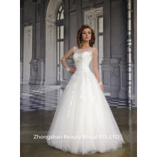 Attractive Style A Line Cheap Wedding Dress
