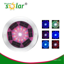 garden inground lights with led solar lights