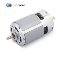 The best quality RS-770SH-8523RD2 carbon brush double output shaft 12v dc electric motor