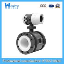 Caudalímetro electromagnético azul de acero al carbono Ht-0269