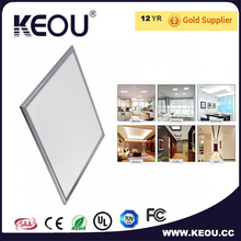 Blanco marco LED Flat Panel 60X60cm Ra > 85 lámpara de techo