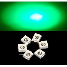 Superljus 3528 Green SMD LED Epistar Chip