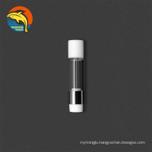 Custom packaging ceramic 1ml cartridge screw on cbd vaporizer cartridge empty cbd cartridge