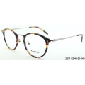 2018 new acetate optical eyeglasses frame with metal decoration