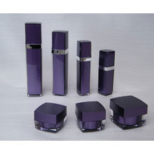 100ml 125ml square PMMA cosmetics packing bottle