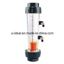 Com medidor de vazão de vidro de rotameter de vidro de alarme
