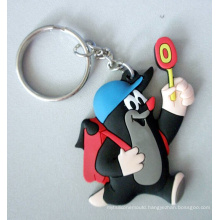 Custom Soft PVC Keychain, Rubber Keyring, Silicone Key Chain