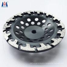 T Segment Stone Diamond Polishing Disc Grinding Cup Wheel