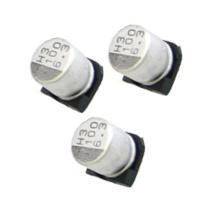Condensador electrolítico de aluminio de Shenzhen Topmay SMD 105c 2000hrs