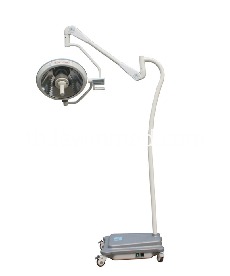 Floor type halogen lamp