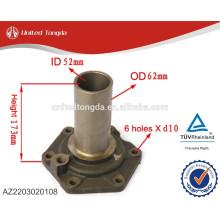 Высокое качество деталей коробки передач HOWO крышка входного вала AZ2203020108