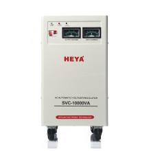 Double Coils 220v 110v Servo Motor Control SVC 10000va ac Automatic Voltage Regulator