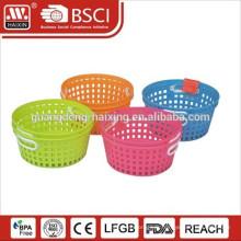 panier de lavage en plastique pliable de légumes/fruits