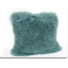OEM Plain Design Plysch Mongolian Lamb Fur Pillow