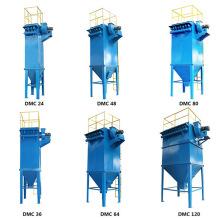 Filtro tipo casa de bolsas para planta de energía de biomasa