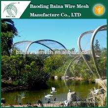 Protección para aviarios malla de alambre de acero inoxidable valla red