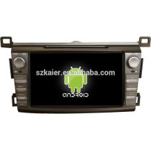 "8 ""android tablet doppel din auto dvd player für 2014 toyota RAV4 + dual core + OEM + fabrik"