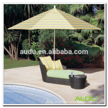Audu Patio Outdoor Furniture Rattan Lounge 135L