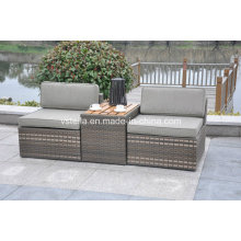 3-Piece Outdoor Stacking Rattan Patio Wicker Set